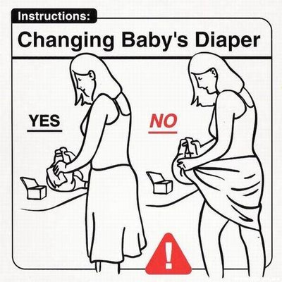 childcarefordummies27-changingbaby'sdiaper