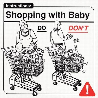childcarefordummies7-shoppingwithbaby